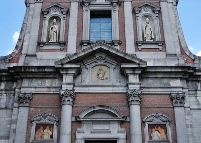 Sant'Agnese - Facciata della basiilica